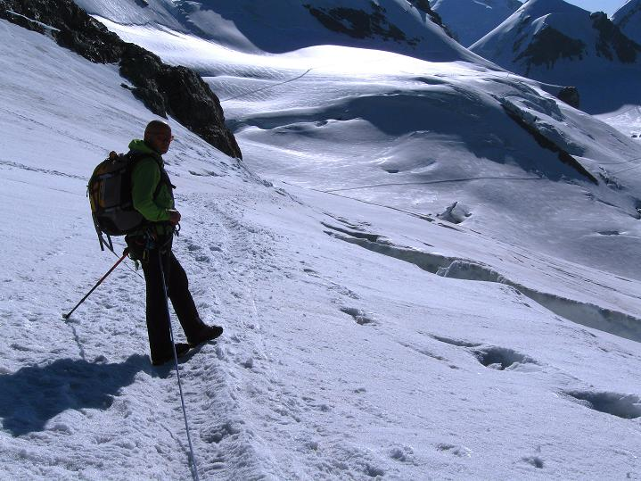 Foto: Andreas Koller / Wander Tour / Pollux (4092 m) / 04.09.2009 11:09:59