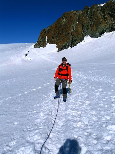 Foto: Andreas Koller / Wander Tour / Pollux (4092 m) / 04.09.2009 11:09:46