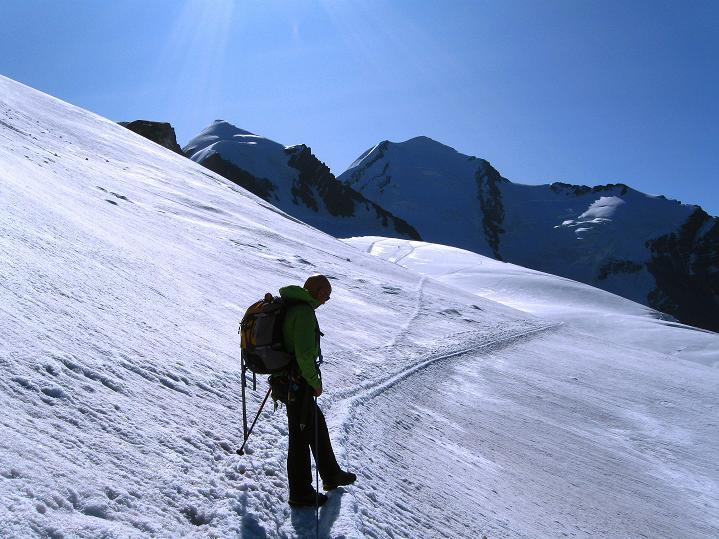 Foto: Andreas Koller / Wander Tour / Pollux (4092 m) / 04.09.2009 11:09:35