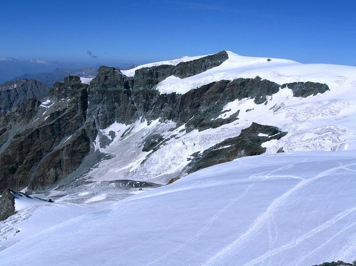 Foto: Andreas Koller / Wander Tour / Pollux (4092 m) / Gobba di Rollin (3899 m) / 04.09.2009 11:07:42