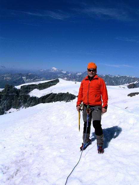 Foto: Andreas Koller / Wander Tour / Pollux (4092 m) / 04.09.2009 11:01:25