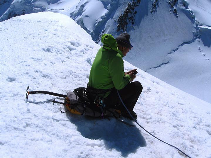 Foto: Andreas Koller / Wander Tour / Pollux (4092 m) / 04.09.2009 10:59:53