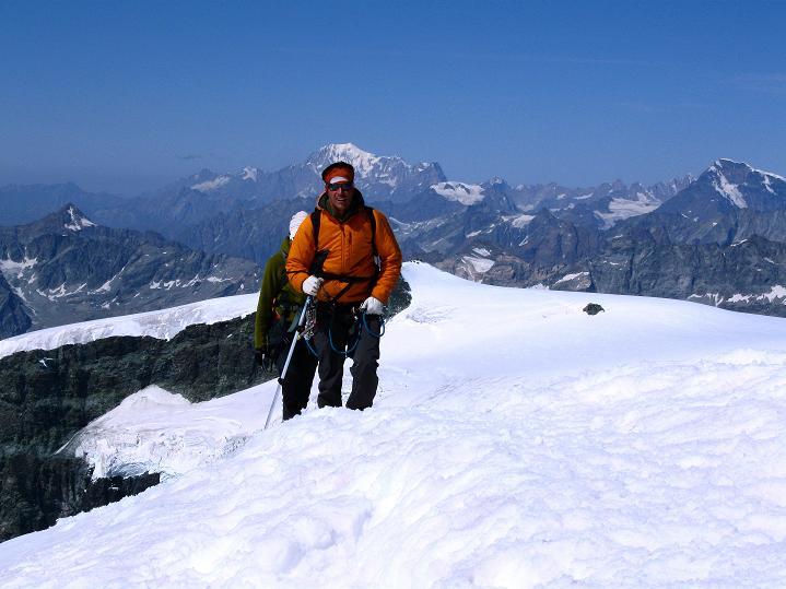 Foto: Andreas Koller / Wander Tour / Pollux (4092 m) / 04.09.2009 10:59:32