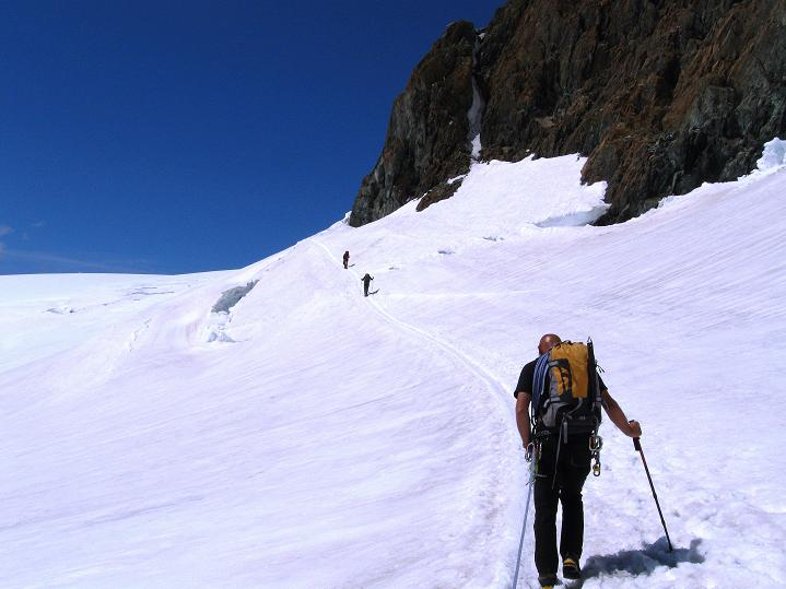Foto: Andreas Koller / Wander Tour / Pollux (4092 m) / 04.09.2009 10:53:52
