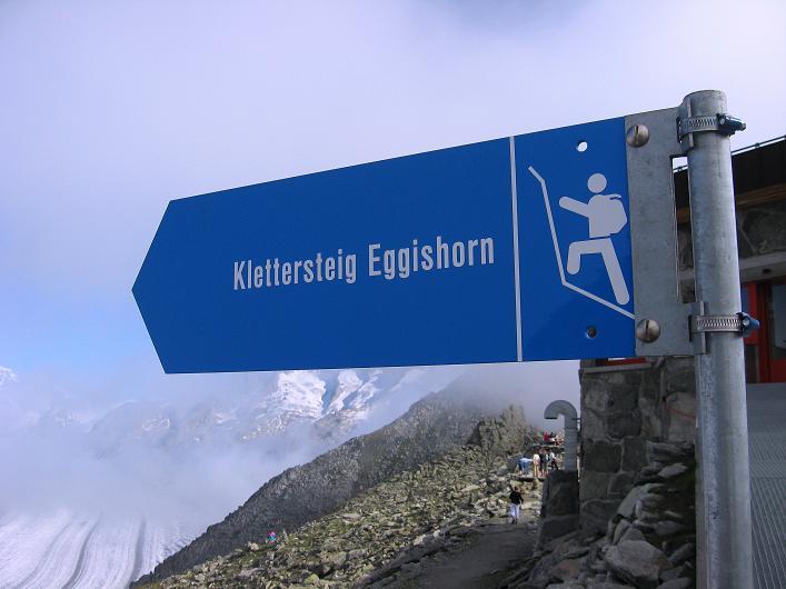 Foto: Andreas Koller / Klettersteig Tour / Klettersteig Eggishorn (2927m) / 13.09.2009 15:52:32