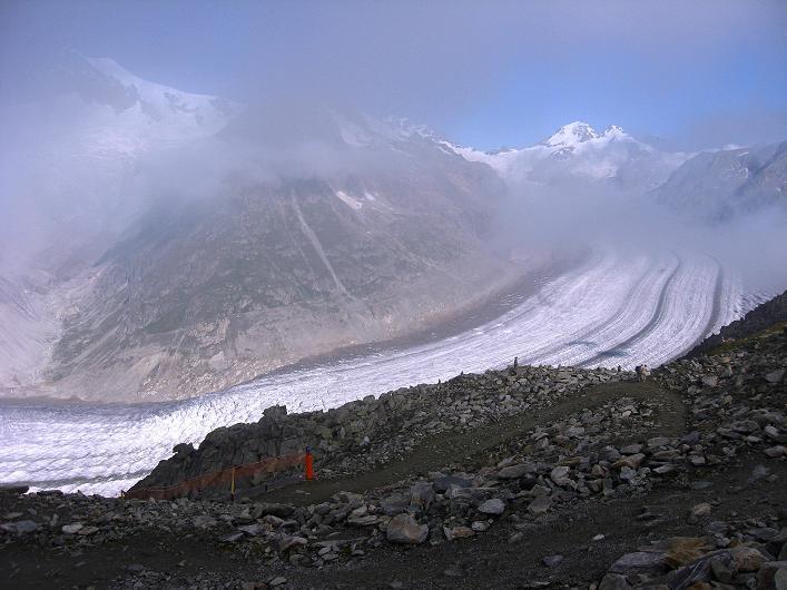 Foto: Andreas Koller / Klettersteig Tour / Klettersteig Eggishorn (2927m) / 13.09.2009 15:52:28