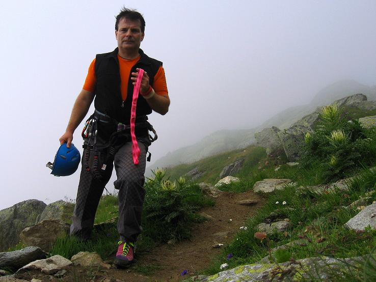 Foto: Andreas Koller / Klettersteig Tour / Klettersteig Eggishorn (2927m) / 13.09.2009 15:51:53