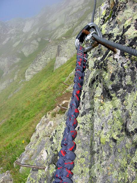 Foto: Andreas Koller / Klettersteig Tour / Klettersteig Eggishorn (2927m) / 13.09.2009 15:51:47