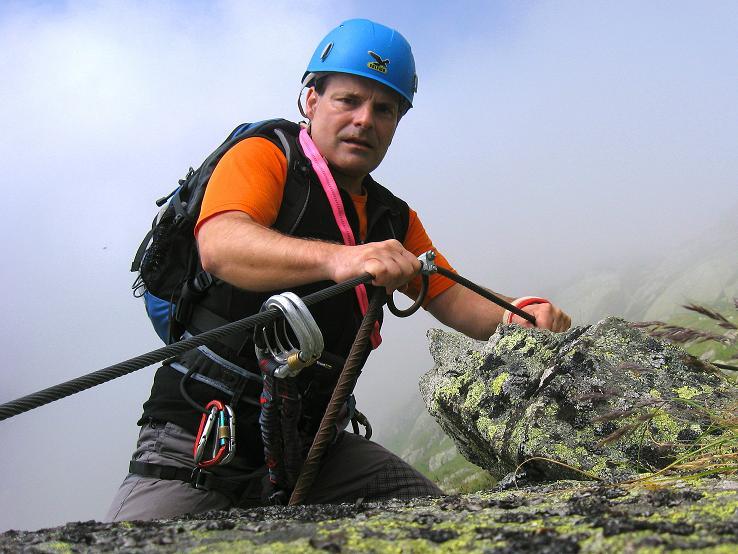 Foto: Andreas Koller / Klettersteig Tour / Klettersteig Eggishorn (2927m) / 13.09.2009 15:51:41
