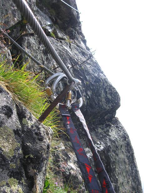 Foto: Andreas Koller / Klettersteig Tour / Klettersteig Eggishorn (2927m) / 13.09.2009 15:50:16