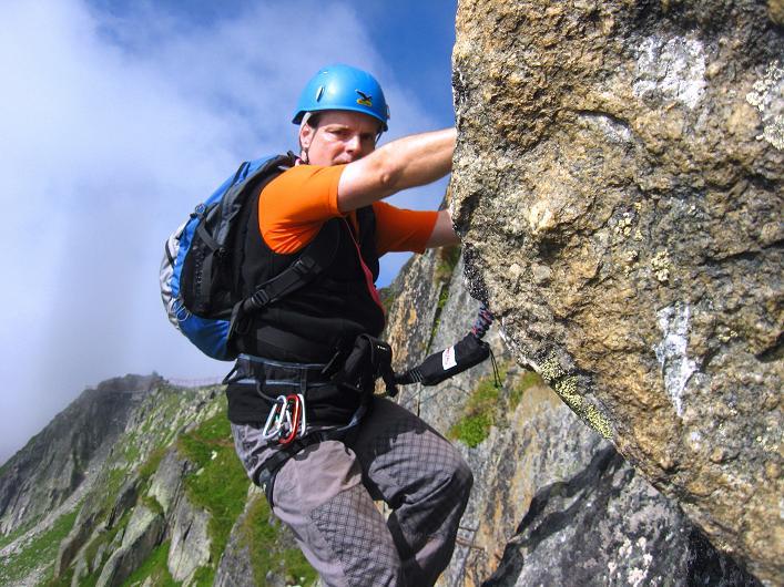 Foto: Andreas Koller / Klettersteig Tour / Klettersteig Eggishorn (2927m) / 13.09.2009 15:50:07