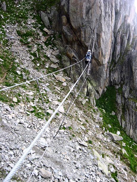 Foto: Andreas Koller / Klettersteig Tour / Klettersteig Eggishorn (2927m) / 13.09.2009 15:49:25
