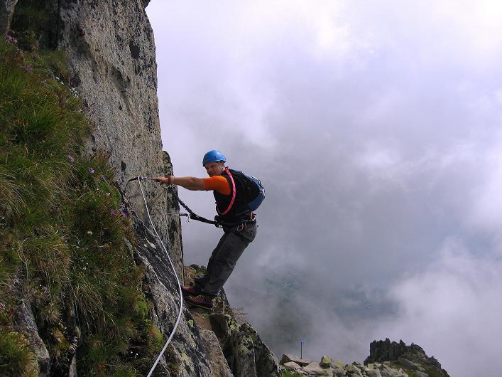 Foto: Andreas Koller / Klettersteig Tour / Klettersteig Eggishorn (2927m) / 13.09.2009 15:48:41