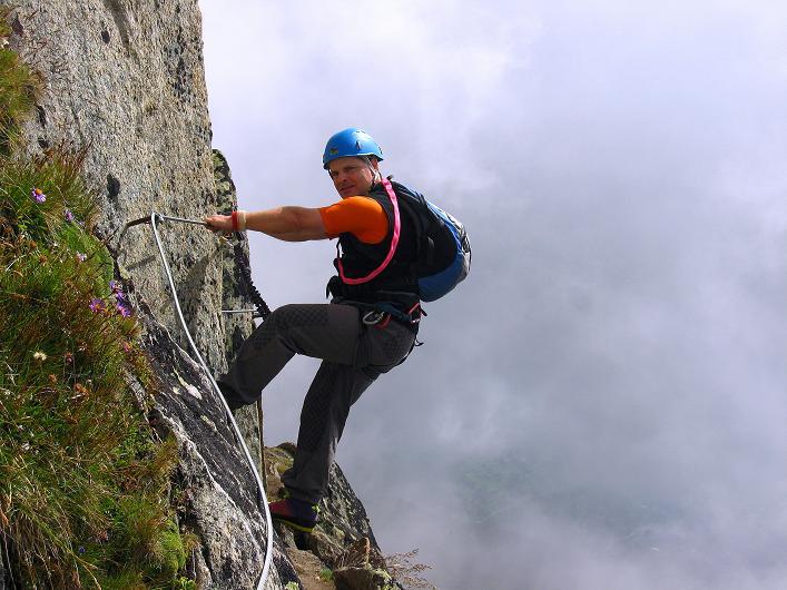 Foto: Andreas Koller / Klettersteig Tour / Klettersteig Eggishorn (2927m) / 13.09.2009 15:48:34