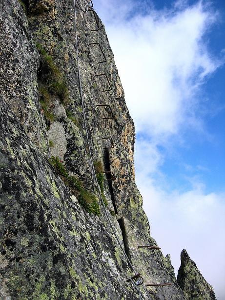 Foto: Andreas Koller / Klettersteig Tour / Klettersteig Eggishorn (2927m) / 13.09.2009 15:47:31