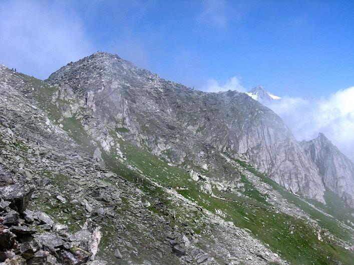 Foto: Andreas Koller / Klettersteig Tour / Klettersteig Eggishorn (2927m) / Blick auf das Eggishorn / 13.09.2009 15:46:40