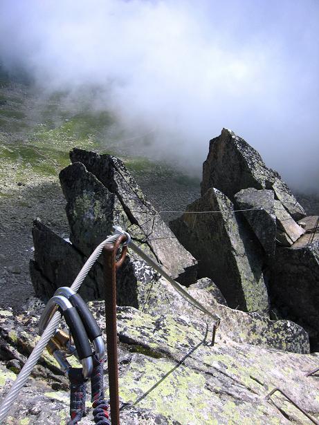 Foto: Andreas Koller / Klettersteig Tour / Klettersteig Eggishorn (2927m) / 13.09.2009 15:46:25