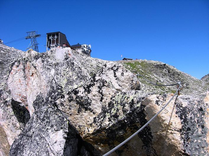 Foto: Andreas Koller / Klettersteig Tour / Klettersteig Eggishorn (2927m) / 13.09.2009 15:45:39
