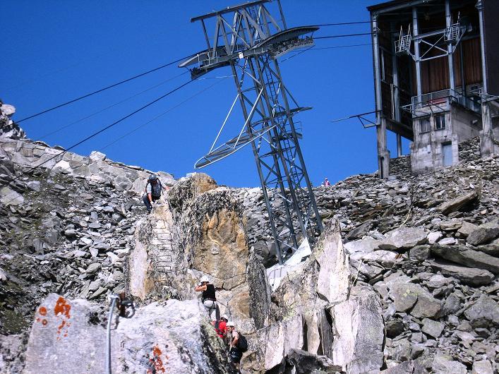 Foto: Andreas Koller / Klettersteig Tour / Klettersteig Eggishorn (2927m) / 13.09.2009 15:45:22