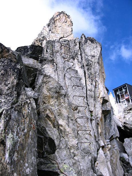 Foto: Andreas Koller / Klettersteig Tour / Klettersteig Eggishorn (2927m) / 13.09.2009 15:44:19