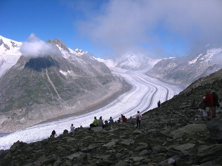 Foto: Andreas Koller / Klettersteig Tour / Klettersteig Eggishorn (2927m) / 13.09.2009 15:43:20