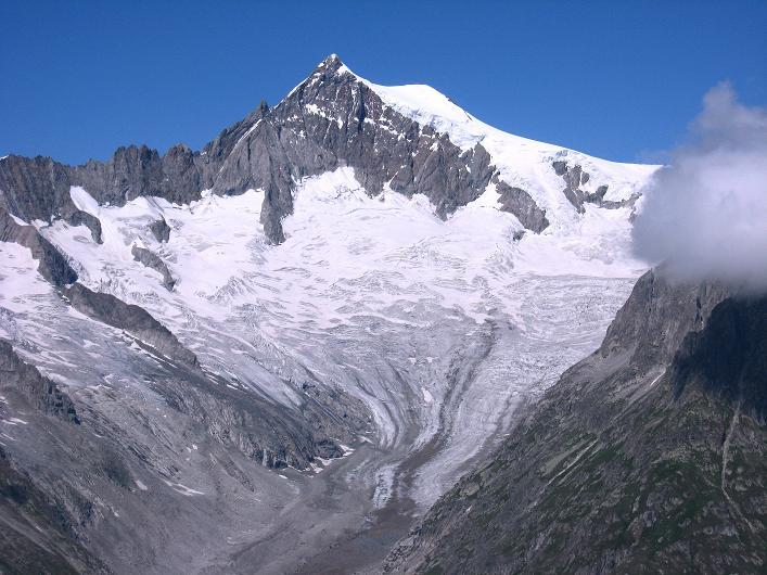 Foto: Andreas Koller / Klettersteig Tour / Klettersteig Eggishorn (2927m) / Aletschhorn (4195 m) / 13.09.2009 15:43:00