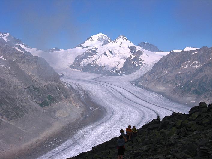 Foto: Andreas Koller / Klettersteig Tour / Klettersteig Eggishorn (2927m) / 13.09.2009 15:42:43