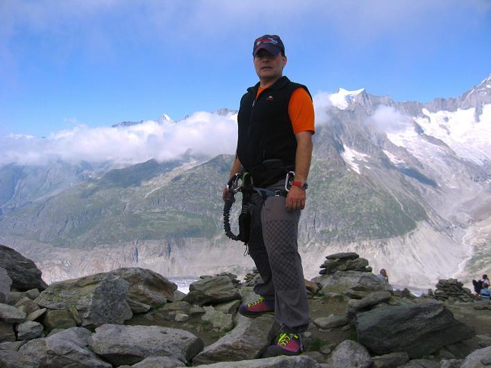 Foto: Andreas Koller / Klettersteig Tour / Klettersteig Eggishorn (2927m) / 13.09.2009 15:42:09