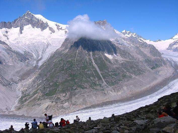 Foto: Andreas Koller / Klettersteig Tour / Klettersteig Eggishorn (2927m) / 13.09.2009 15:42:00