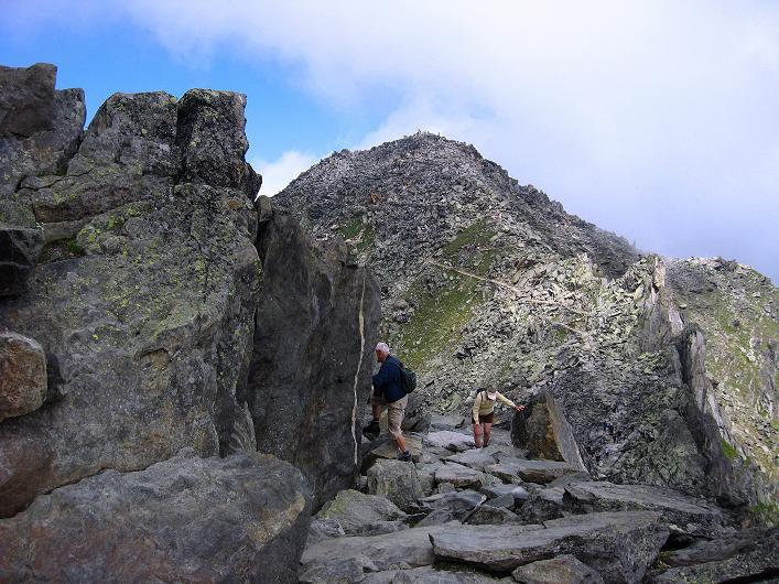 Foto: Andreas Koller / Klettersteig Tour / Klettersteig Eggishorn (2927m) / Plattenweg zum Eggishorn / 13.09.2009 15:41:51