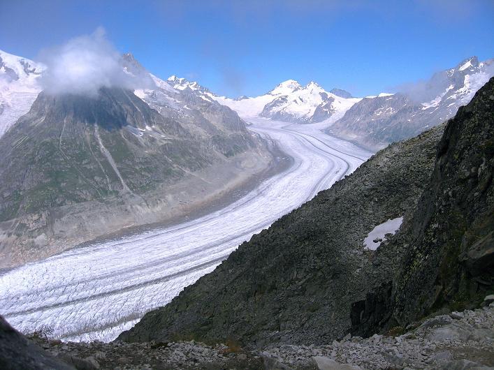 Foto: Andreas Koller / Klettersteig Tour / Klettersteig Eggishorn (2927m) / Aletschgletscher / 13.09.2009 15:41:36