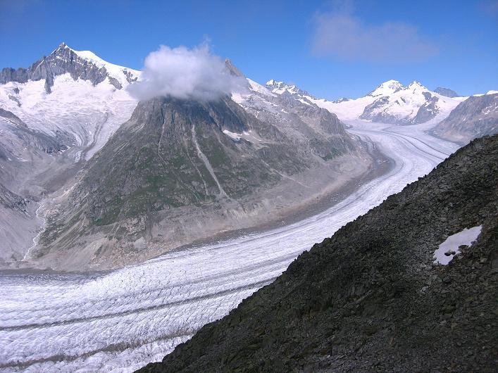 Foto: Andreas Koller / Klettersteig Tour / Klettersteig Eggishorn (2927m) / 13.09.2009 15:41:12