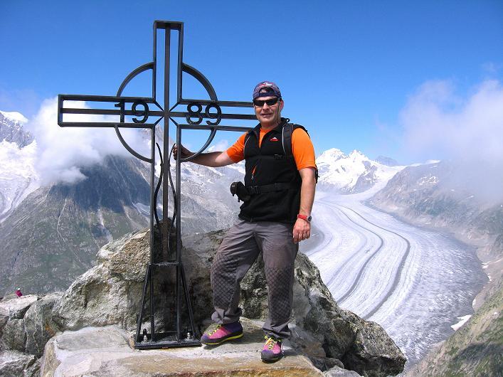 Foto: Andreas Koller / Klettersteig Tour / Klettersteig Eggishorn (2927m) / 13.09.2009 15:39:27