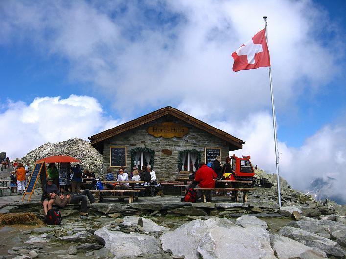 Foto: Andreas Koller / Klettersteig Tour / Klettersteig Eggishorn (2927m) / Horli Hitte / 13.09.2009 15:37:27