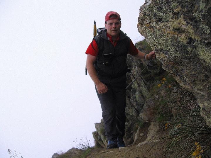 Foto: Andreas Koller / Wander Tour / In die Mischabelkette: Nadelhorn (4327 m) und Ulrichshorn (3925 m) / 05.09.2009 15:48:06