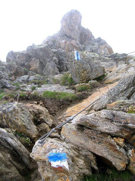 Foto: Andreas Koller / Wander Tour / In die Mischabelkette: Nadelhorn (4327 m) und Ulrichshorn (3925 m) / 05.09.2009 15:47:57