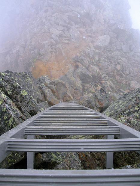 Foto: Andreas Koller / Wander Tour / In die Mischabelkette: Nadelhorn (4327 m) und Ulrichshorn (3925 m) / 05.09.2009 15:47:32