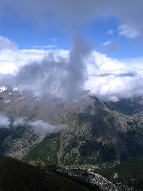 Foto: Andreas Koller / Wander Tour / In die Mischabelkette: Nadelhorn (4327 m) und Ulrichshorn (3925 m) / 05.09.2009 15:47:07