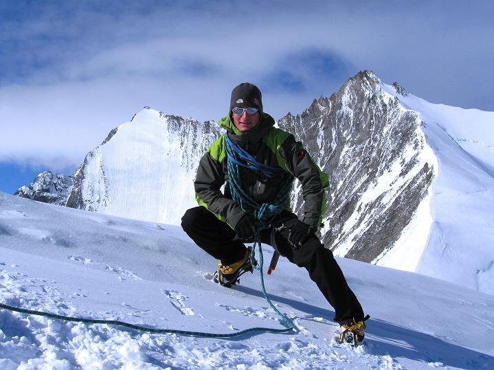 Foto: Andreas Koller / Wander Tour / In die Mischabelkette: Nadelhorn (4327 m) und Ulrichshorn (3925 m) / 05.09.2009 15:36:27