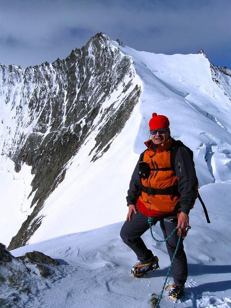 Foto: Andreas Koller / Wander Tour / In die Mischabelkette: Nadelhorn (4327 m) und Ulrichshorn (3925 m) / 05.09.2009 15:36:00