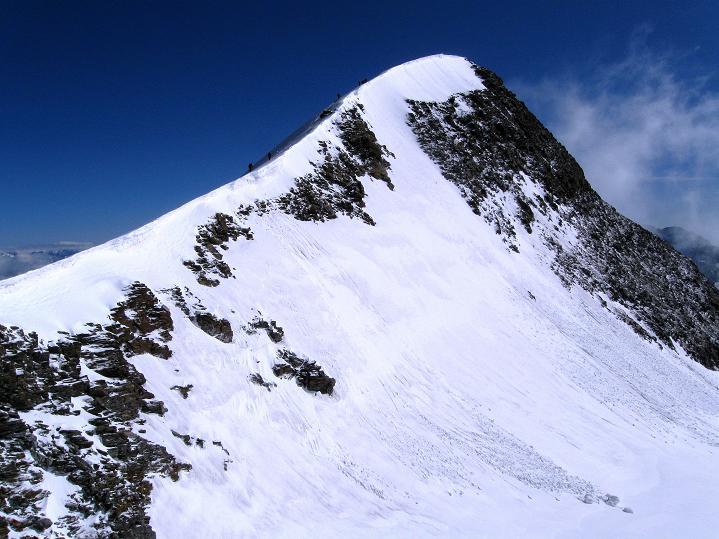 Foto: Andreas Koller / Wander Tour / In die Mischabelkette: Nadelhorn (4327 m) und Ulrichshorn (3925 m) / Ulrichshorn / 05.09.2009 15:34:44