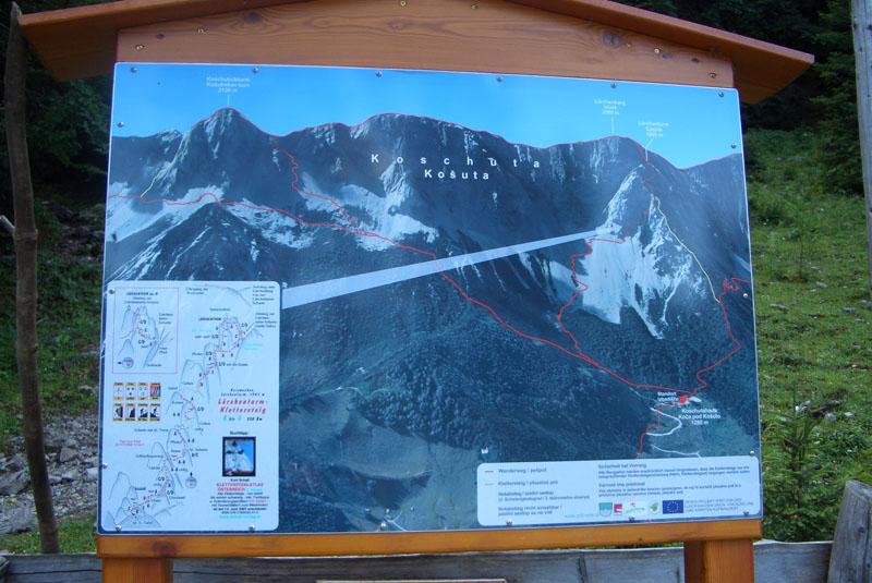 Foto: scouty_caro / Klettersteig Tour / Lärchenturm / Beim Parkplatz / 31.08.2009 21:42:17