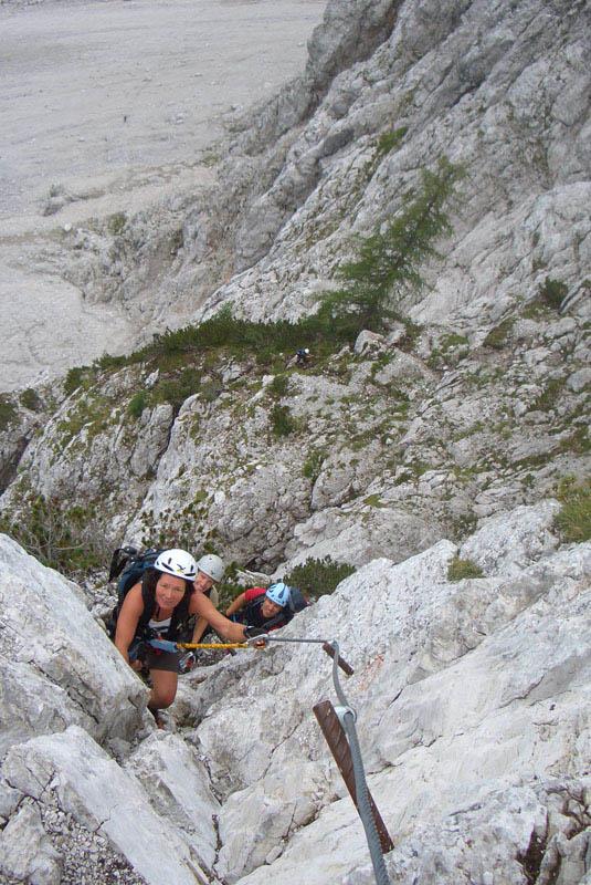 Foto: scouty_caro / Klettersteig Tour / Lärchenturm / am Klettersteig / 31.08.2009 21:46:23