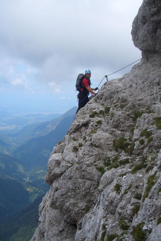 Foto: scouty_caro / Klettersteig Tour / Lärchenturm / am Klettersteig / 31.08.2009 21:46:28