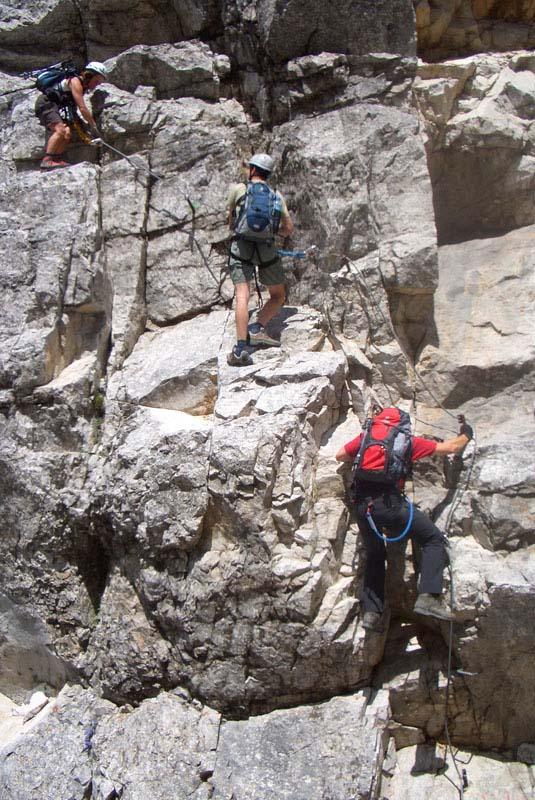 Foto: scouty_caro / Klettersteig Tour / Lärchenturm / Abstieg vom Lärchenturm - auf den letzten Metern / 31.08.2009 21:46:36