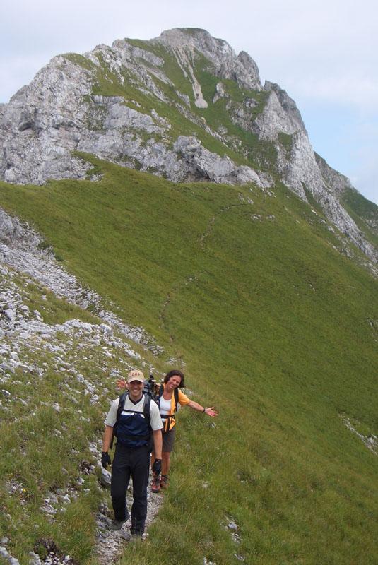 Foto: scouty_caro / Klettersteig Tour / Lärchenturm / Gratwanderung / 31.08.2009 21:46:48