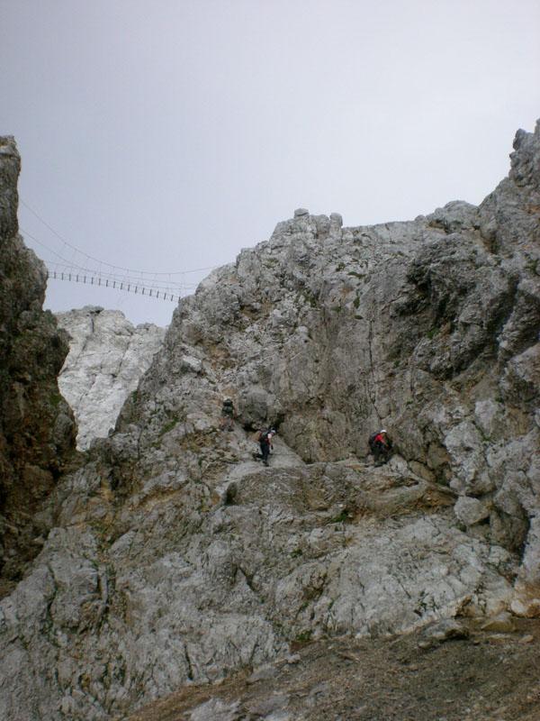 Foto: scouty_caro / Klettersteig Tour / Lärchenturm / Abstieg - ÖTK Steig / 31.08.2009 21:47:00