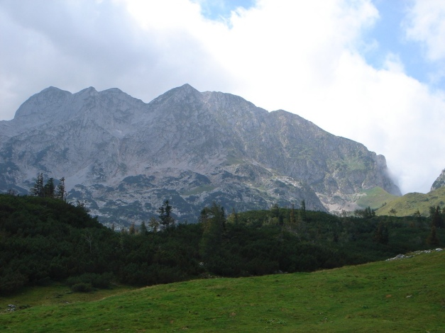 Foto: Manfred Karl / Wander Tour / Von Quehenberg auf den Schober / Höllkarwand (Tagweide - Hochkarfelderkopf, siehe Alpintouren.com) / 31.08.2009 21:22:19