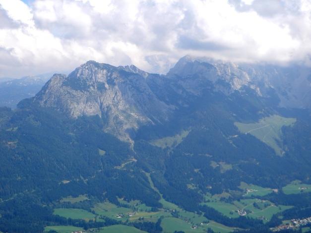Foto: Manfred Karl / Wander Tour / Von Quehenberg auf den Schober / Gosaukamm / 31.08.2009 21:20:37