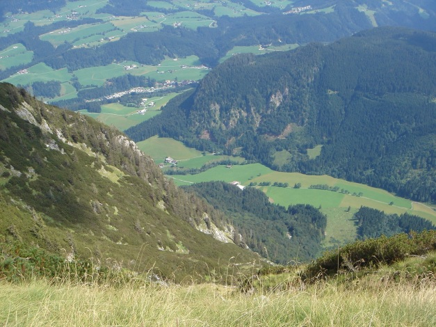 Foto: Manfred Karl / Wander Tour / Von Quehenberg auf den Schober / Blick zum Quehenberger / 31.08.2009 21:19:19